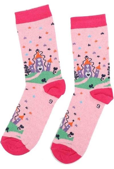 Arc Kids Kız Çocuk Çorap 002 | Pembe