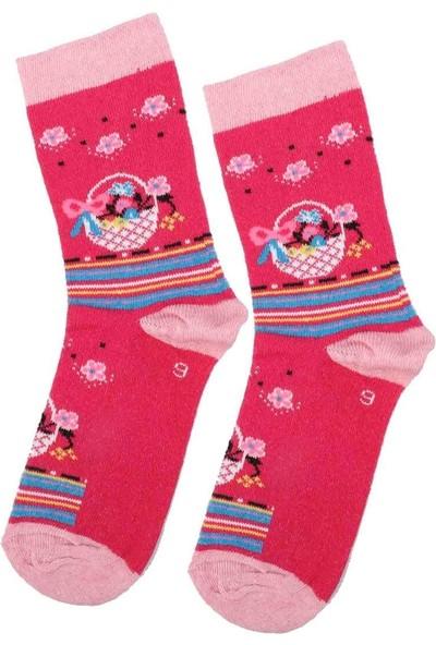 Arc Kids Kız Çocuk Çorap | Fuşya