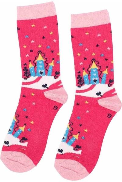 Arc Kids Kız Çocuk Çorap 002 | Fuşya