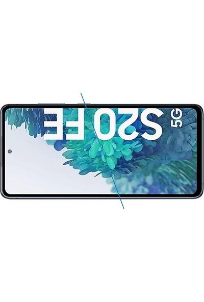 Ssmobil Samsung Galaxy S20 Fe Full Glue Tempered Cam Ekran Koruyucu Full Kaplama