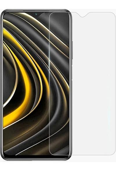 Ssmobil Xiaomi Poco M3 Tempered Kırılmaz Cam Ekran Koruyucu