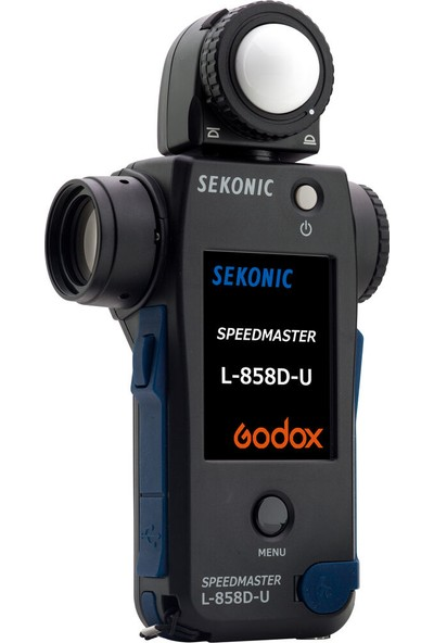 Sekonic L-858D-U Digitalmaster Dijital Pozometre + Rx-Gx Godox Modülü