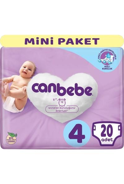 Canbebe Bebek Bezi Beden 4 7 - 14 kg Maxi 20 Adet Mini Paket