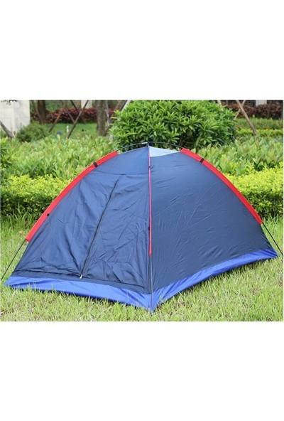 Sezy 12 Kişilik Ortadan Fermuarlı 320X290X170 cm Waterproof Kamp Çadırı