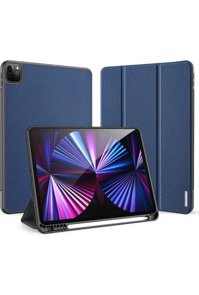 Haweel Apple iPad Pro 12.9'' Inç 5.nesil M1 (A2378 A2461 A2379 A2462) Akıllı Uyku Modu Smart Kılıf