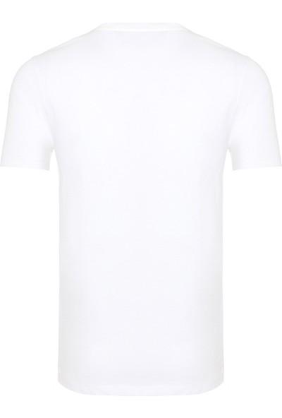 New Balance Bear Tee Erkek T-Shirt MTT915-WT