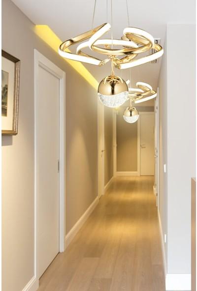 Luna Lighting Modern Luxury Modern LED Avize 2'li Set