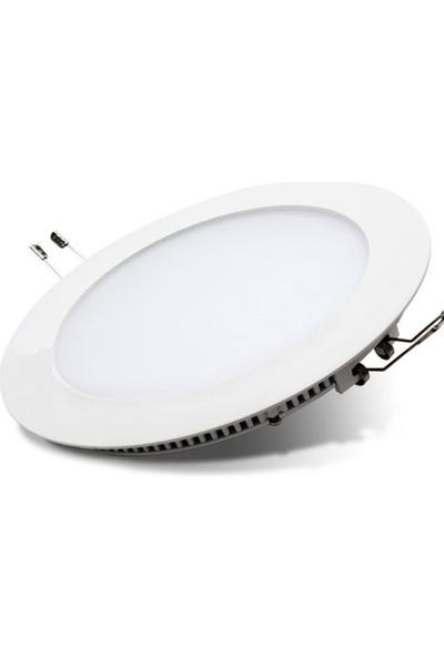 Uzlight 20W Gün Işığı LED Panel Spot Lamba 3000K Sıva Altı