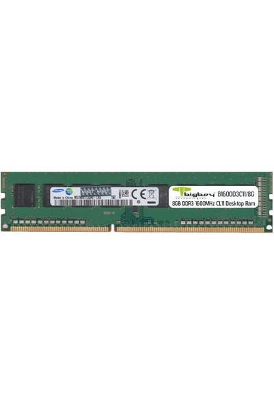Bigboy 8gb 1600MHZ CL11 Ddr3 Masaüstü Ram B1600D3C11/8G