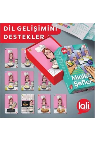 Lali Yayınları Minik Şefler Dil Gelişimini Destekleyici Kartlar