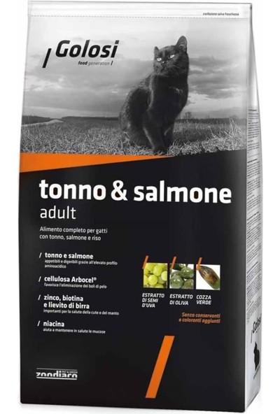 Golosi Ton ve Somon Balıklı Yetişkin Kedi Maması 7,5 kg