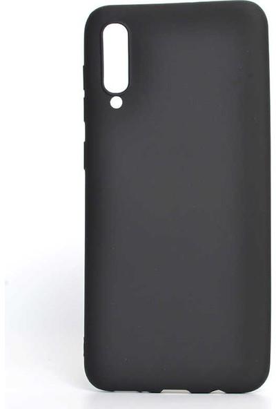Canpay Samsung Galaxy A70 Kılıf Yumuşak Pürüzsüz Esnek New Style Case Esnek Siyah
