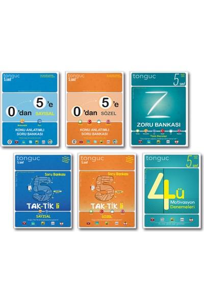 Tonguç Akademi Yayınları Tonguç 5. Sınıf Konu Anlatımlı Soru Bankası Taktikli Zoru Bankası Deneme Set 6 Kitap 2021 - 2022