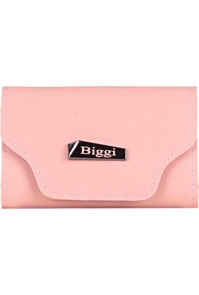 Biggi 00969 Pudra Kadın Deri Tozu Kartlık