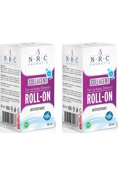 Nrc Ter ve Koku Önleyici Collagen Ilaveli Antiperspırant Roll-On 50 ml X2 Kutu