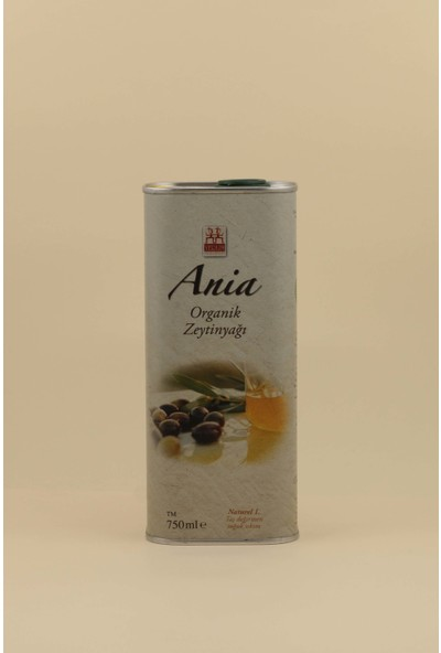 Yerlim Ania Naturel Zeytinyağı 750 ml