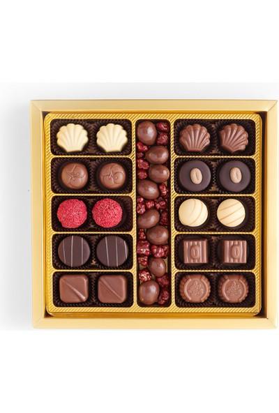 Sıroğlu Çikolata Deluxe Spesiyal Çikolata Hediyelik Kutu