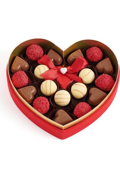 Sıroğlu Çikolata S Chocolate Romance Of Paris Hediyelik Çikolata Kalp Kutu
