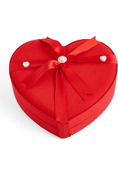 Sıroğlu Çikolata Golden Heart Hediyelik Çikolata Kalp Kutu