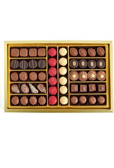 Sıroğlu Çikolata Spesiyal Dolgulu Hediyelik Çikolata Kutu