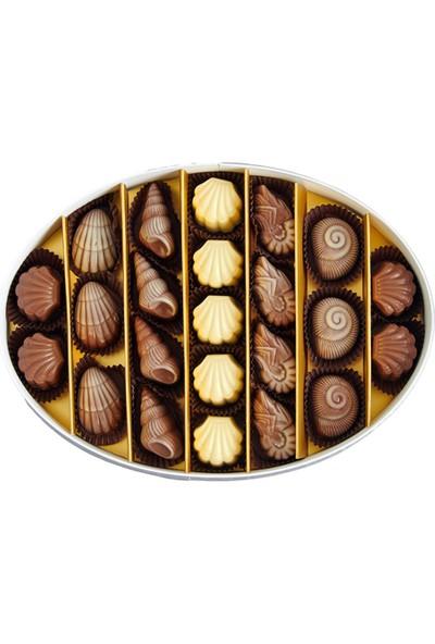 Sıroğlu Çikolata Carmel-By-The-Sea Hediyelik Çikolata Oval Kutu