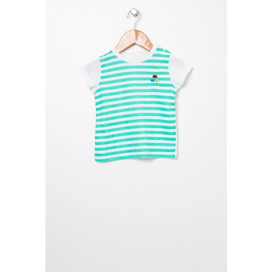 Mamma Ramma Mammaramma Yeşil-Beyaz T-Shirt