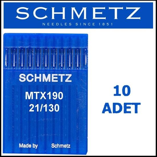 Schmetz MTX190 Lok Makinesi Iğnesi 21/130 Numara