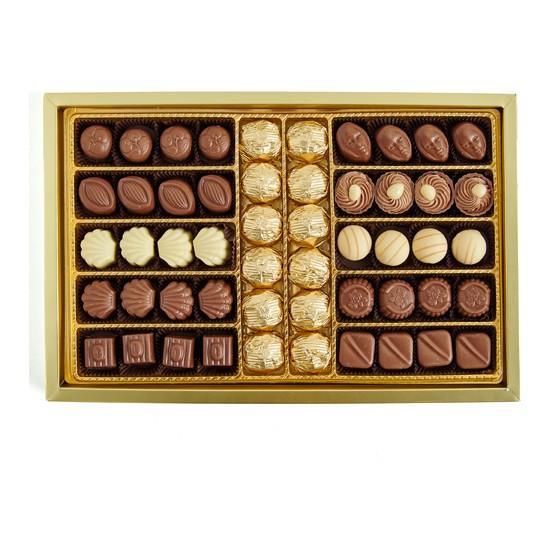 Sıroğlu Çikolata Gurme Lux Spesiyal & Yaldızlı Hediyelik Çikolata Kutu