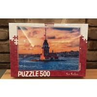 Pınarstore 500 Parça Puzzle Kız Kulesi 2989