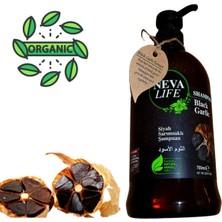 Neva Life Siyah Sarımsaklı Organik Şampuan 700 ml Tuz, Fosfat Paraben Içermez