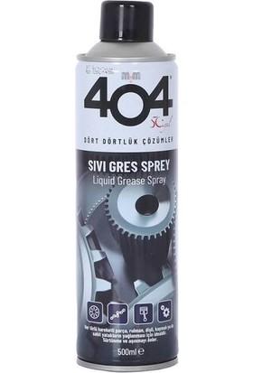 404 Sıvı Gres Yağı 500 ml