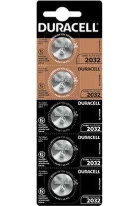 Duracell CR2032 5'li Lityum Pil