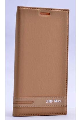Canpay Asus Zenfone Max ZC550KL Mıknatıs Kapaklı Kılıf Magnet Style Case