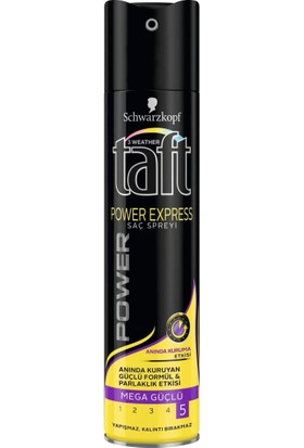 Rectiwa Taft Saç Spreyi 250 ml Power Express