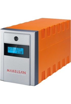 Makelsan 1000VA Lion Plus Line Interaktif LED Ekran Ups