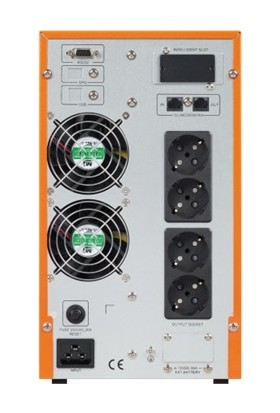 Makelsan 3kva Powerback Se Online 1/1f LCD Ekran Tower Ups