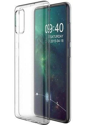 Dafoni Aircraft Samsung Galaxy A71 Ultra Ince Şeffaf Silikon Kılıf