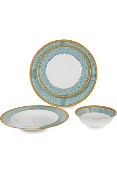 Ipek Porselen 24 Parça 6 Kişilik Yuvarlak Günlük Yemek Takımı-39