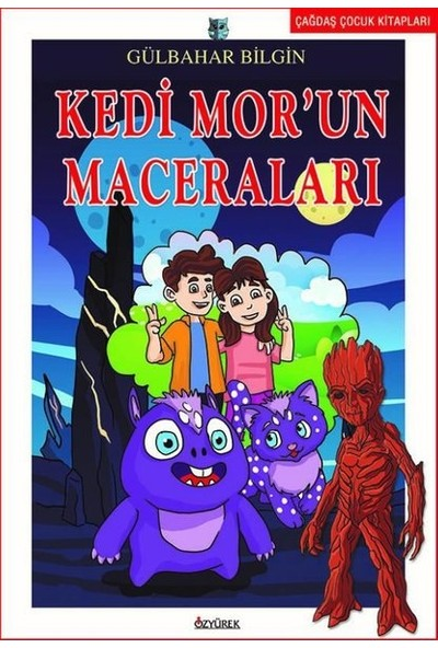 Kedi Mor'un Maceraları-Çağdaş Çocuk Kitapları - Gülbahar Bilgin