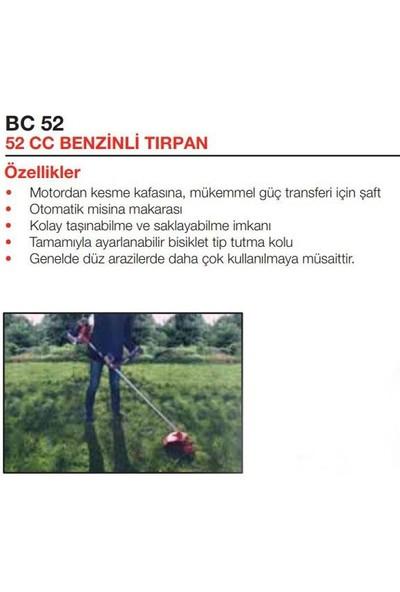 Attlas BC52 Yan Tırpan Benzinli 2.1 Hp