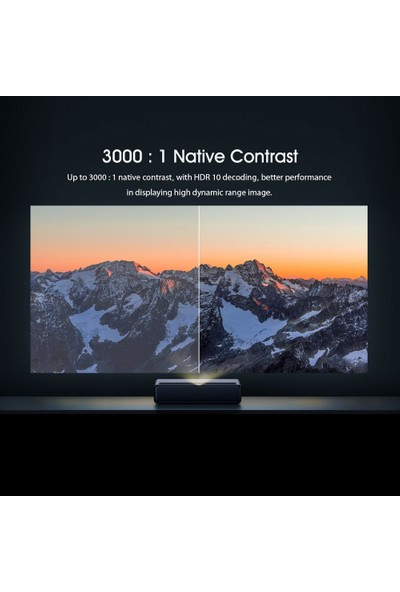 Xiaomi Mijia Lazer Projektör Tv 4K Hdr