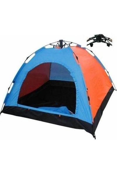 Realx Tam Otomatik Kurulum 6 Kişilik Kamp Çadırı 220 x 250 x 160 cm