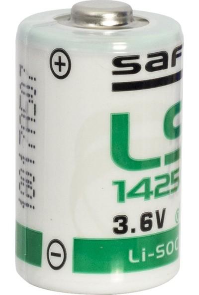 Saft 3.6 Volt Kısa Lityum Saft Pil 14250