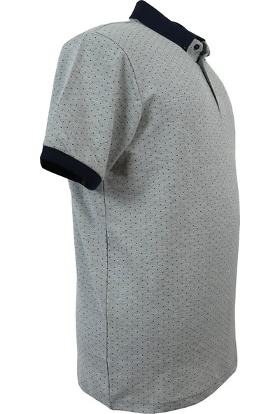 Rugatchi Büyük Beden Erkek Tişört Düz Pike Polo Yaka