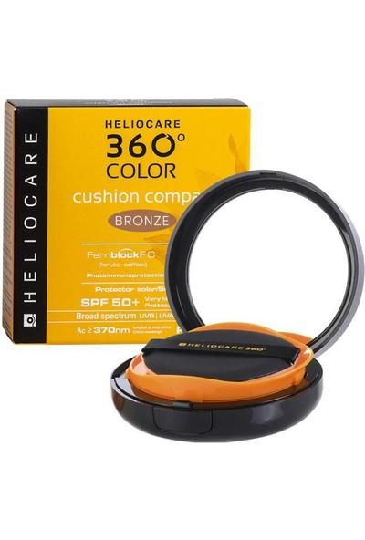 Heliocare 360 Color Kompakt Fondöten Spf 50 + Bronze 15 G
