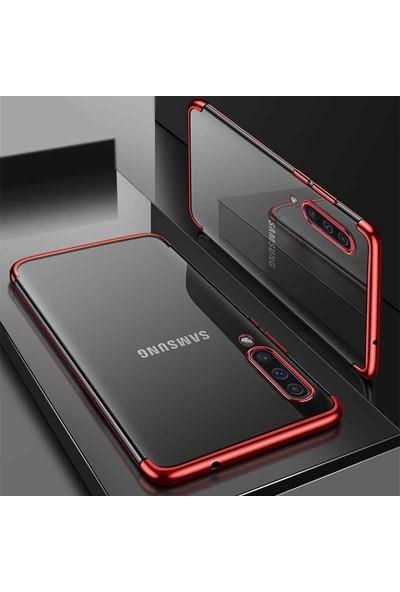 Canpay Samsung Galaxy A30S Kılıf Laser Paint Transparent Soft Series
