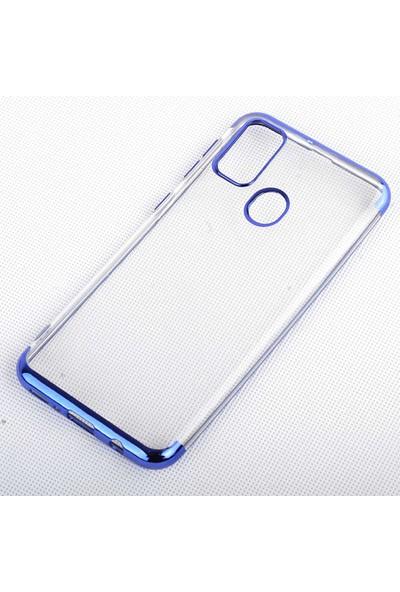 Canpay Samsung Galaxy M30S Kılıf Laser Paint Transparent Soft Series