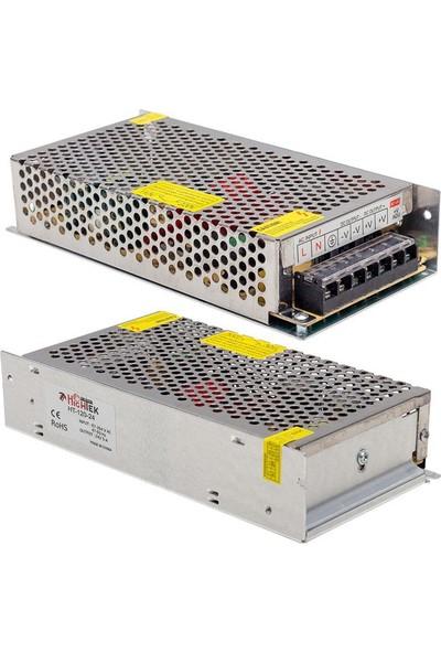 Hightek 24V 5A 120W Metal Kasa Adaptör HT1097