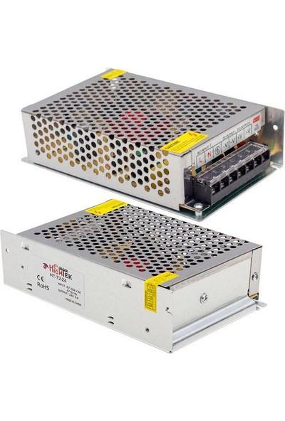 Hightek 24V 3A 75W Metal Kasa Adaptör HT1096