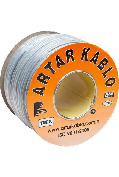 Artar Kablo Artar 2x1.5 mm Liycy 100 Metre Bakır Hoparlör Kablosu